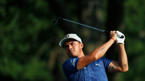 <p>               FILE - In this Aug. 11, 2018, file photo, Rickie Fowler watches his tee shot on the 16th hole during the second round of the PGA Championship golf tournament at Bellerive Country Club, in St. Louis. Fowler returns to action after three off because of an oblique injury. (AP Photo/Jeff Roberson, File)             </p>