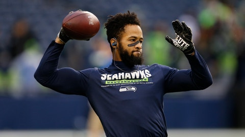 """<p>               FILE - In this Nov. 20, 2017, file photo, Seattle Seahawks' Earl Thomas warms up before an NFL football game against the Atlanta Falcons, in Seattle. Seahawks safety Earl Thomas appears set to end his lengthy holdout in time for the start of the regular season, even without a new contract. Thomas posted to Instagram on Wednesday morning, Sept. 5, 2018. saying he's never let his """"teammates, city or fans down as long as I have lived and don't plan to start this weekend.""""(AP Photo/Stephen Brashear, File)             </p>"""