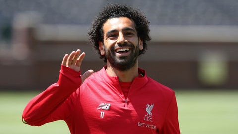 <p>               FILE - In this July 27, 2018, file photo, Liverpool forward Mohamed Salah waves to fans before a training session, in Ann Arbor, Mich. Thanks to his star power and a government keen to keep its most valuable international asset happy, Salah has won his latest tussle with Egypt's soccer federation after his demands for better security and improved discipline for the national squad have been met. (AP Photo/Carlos Osorio, File)             </p>