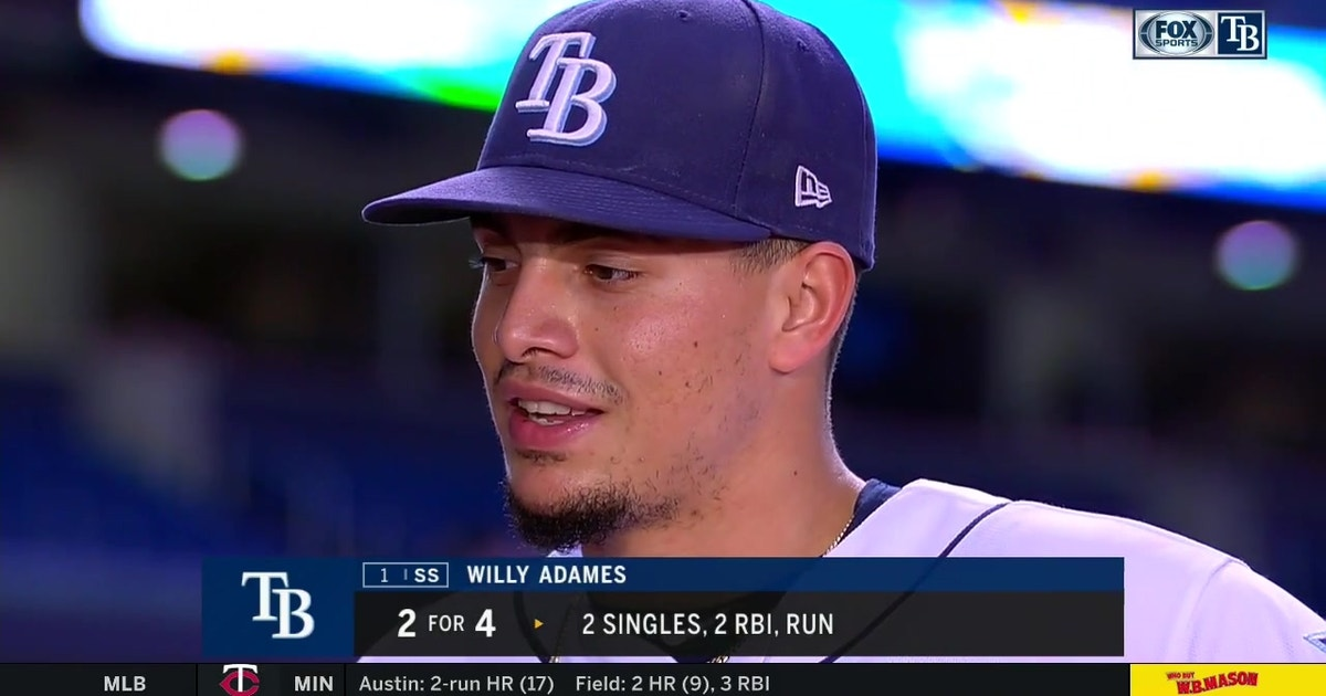 Willy Adames says no matter the score, Rays will bounce back