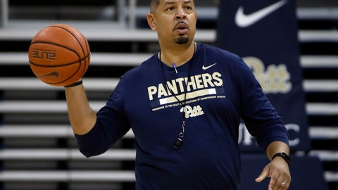 <p>               Pittsburgh men's basketball coach Jeff Capel runs his first practice Tuesday, Sept. 25, 2018 in Pittsburgh. Rebuilding the Pitt basketball program won't be an easy process, still, the first-year coach believes the energy is back in a program that floundered under Kevin Stallings. (AP Photo/Gene J. Puskar)             </p>