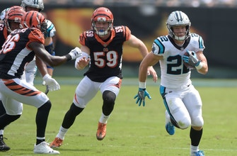 Panthers' McCaffrey proving he can be an every-down back