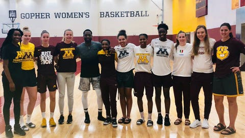 Lindsay Whalen, Gophers women's basketball coach