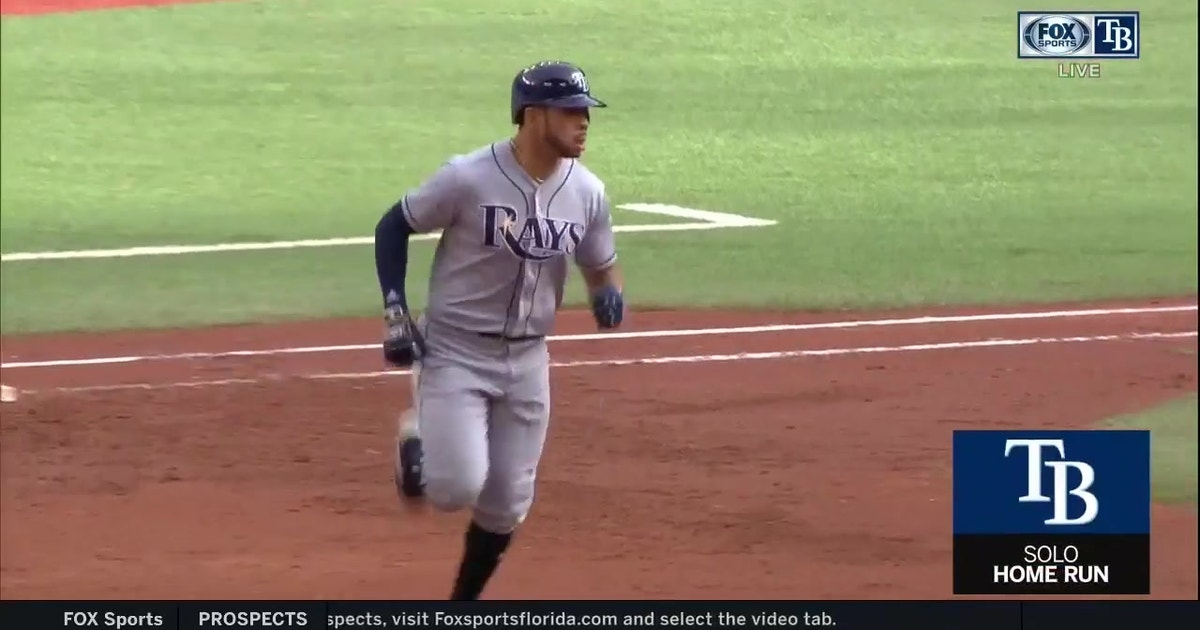 WATCH: Tommy Pham, Jesus Sucre blast homers in loss to Blue Jays