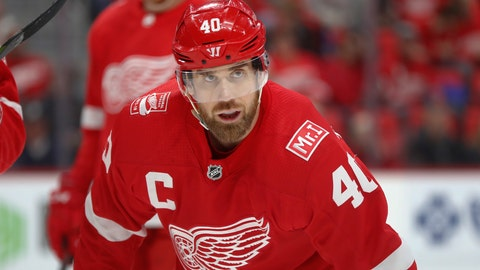 <p>               In this Jan. 20, 2018 photo, Detroit Red Wings' Henrik Zetterberg plays against the Carolina Hurricanes in the first period of an NHL hockey game in Detroit. A degenerative back issue is causing the 37-year-old Zetterberg to stop playing it after it was announced Friday, Sept. 14, 2018, at training camp. Zetterberg is not going to officially retire, of course; that would mean forfeiting the remaining $5.35M owed to him through the 2020-21 season. (AP Photo/Paul Sancya)             </p>