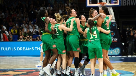 United States vs Australia for gold at Women's Basketball World Cup