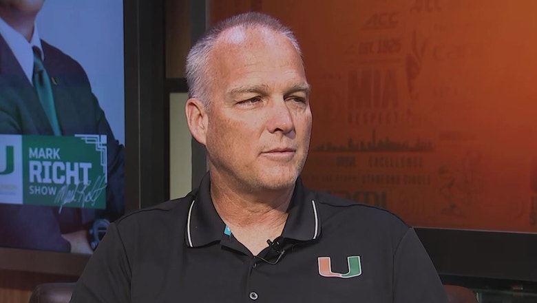 Mark Richt discusses what to expect when Miami and FIU clash on Saturday