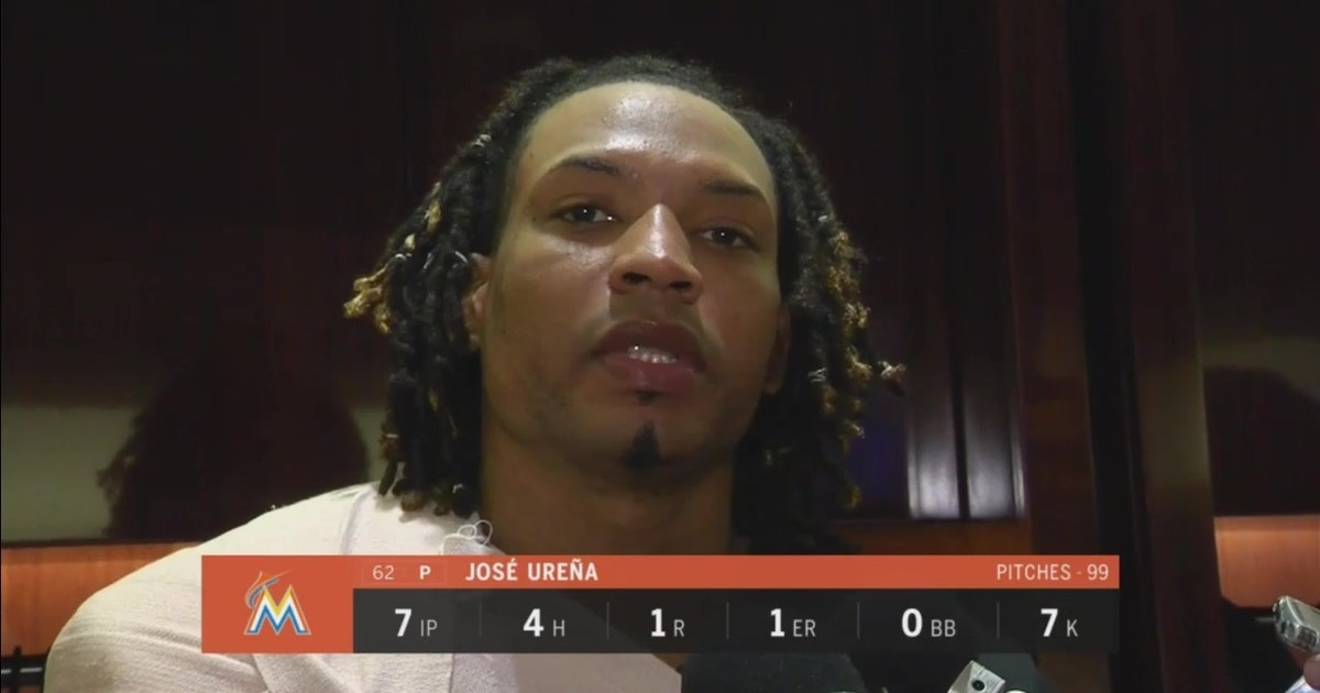 Marlins righty Jose Urena on locking in after giving up HR