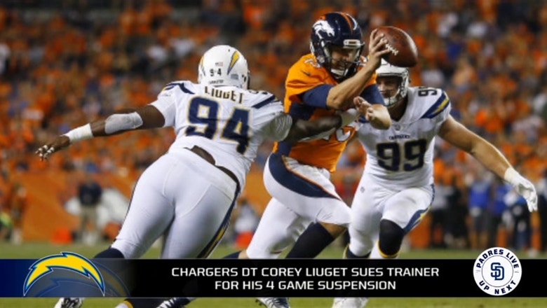 Chargers DT Corey Liuget sues trainer over positive test