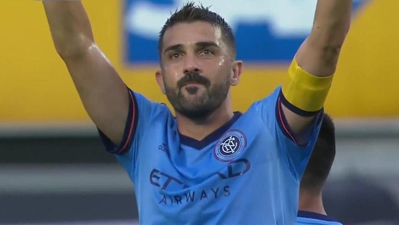 David Villa scores late game equalizer versus D.C. United | 2018 MLS Highlights