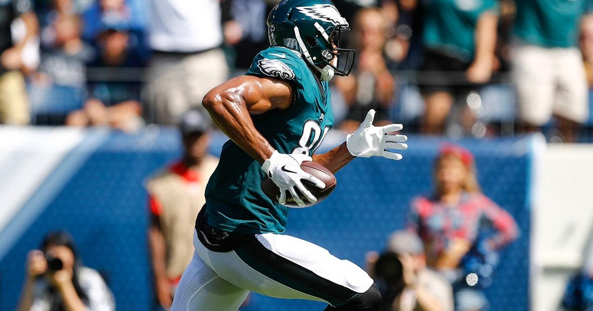Jordan Matthews pulls in 56-yard touchdown in his first game back in Philadelphia