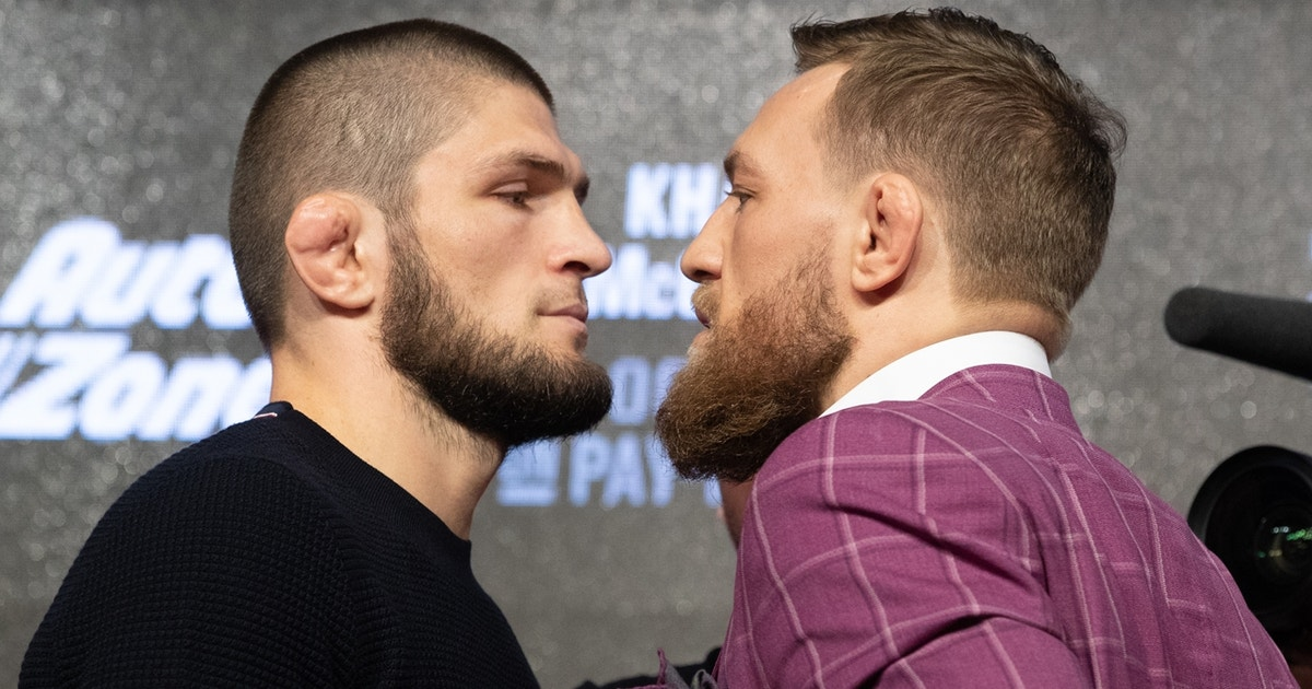 Conor Mcgregor And Khabib Nurmagomedov Have An Epic