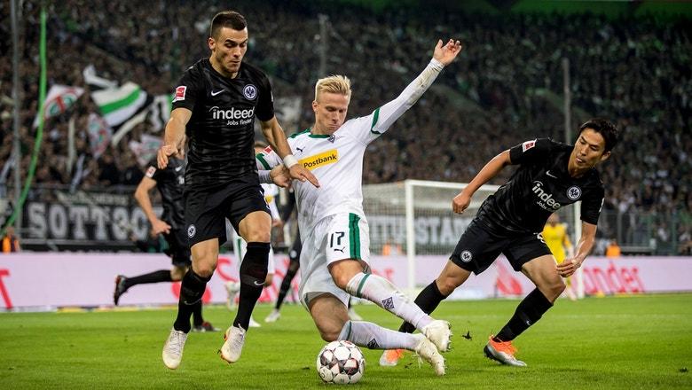 Monchengladbach vs. Eintracht Frankfurt | 2018-19 Bundesliga Highlights