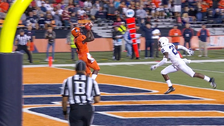 Watch Illinois' reverse flea-flicker before the wheels fell off vs. Penn State