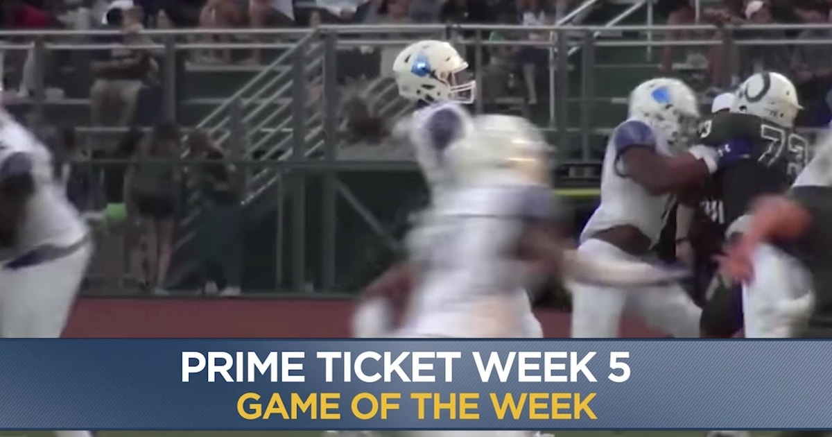 Game Of The Week No 1 Img Vs No 3 Mater Dei Prime Ticket 7 30p