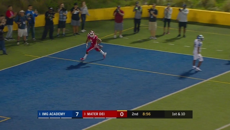 Week 5: Mater Dei's Bryce Young to Bru McCoy for 6 vs. IMG