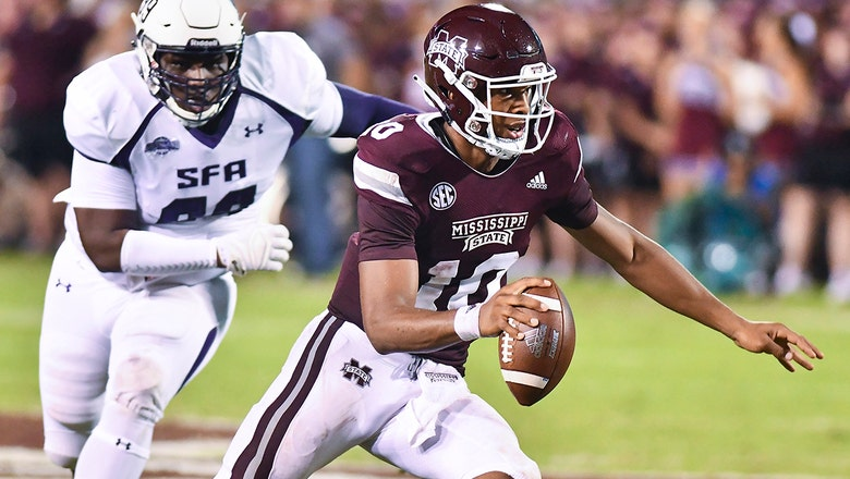 No. 18 Mississippi State drops 63 in blowout win over Stephen F Austin