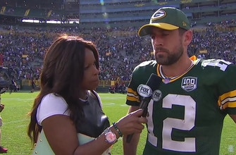 Aaron Rodgers less than thrilled after Packers – Vikings tie
