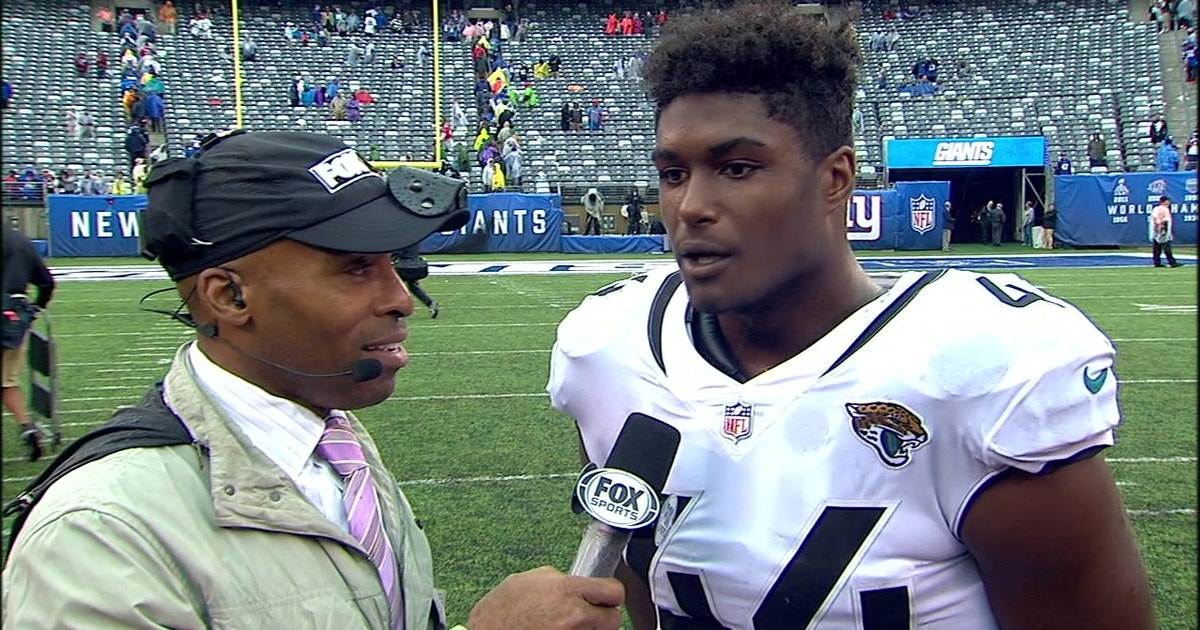 Myles Jack breaks down the Jaguars  pick-six in beautiful football-speak  fba98bf78