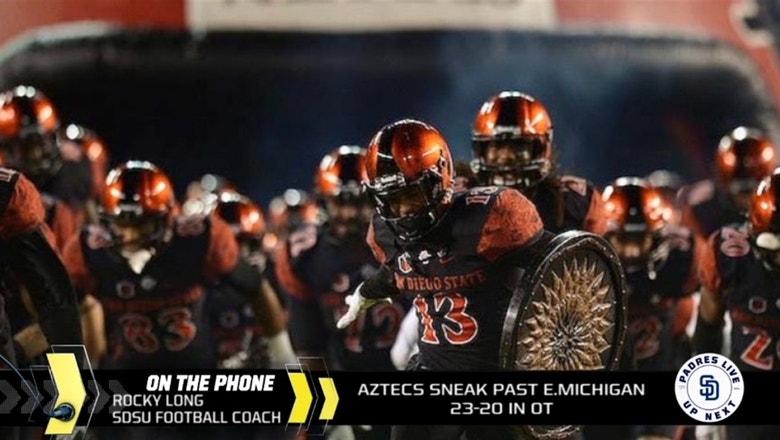 Rocky Long on Aztecs' OT win over Eastern Michigan