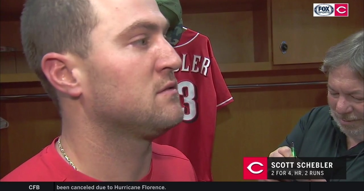 Scott Schebler has a chip on his shoulder against his old team