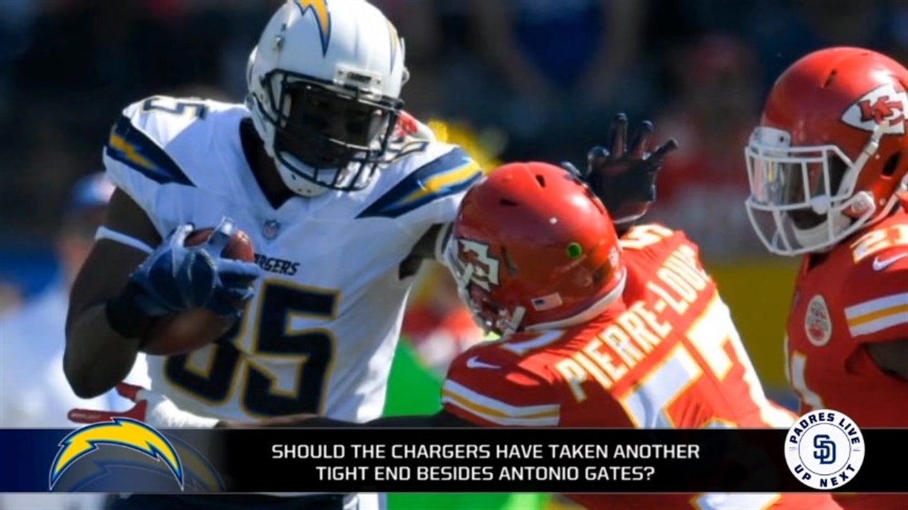 0bf7f2be Are you surprised the Chargers re-signed Antonio Gates?