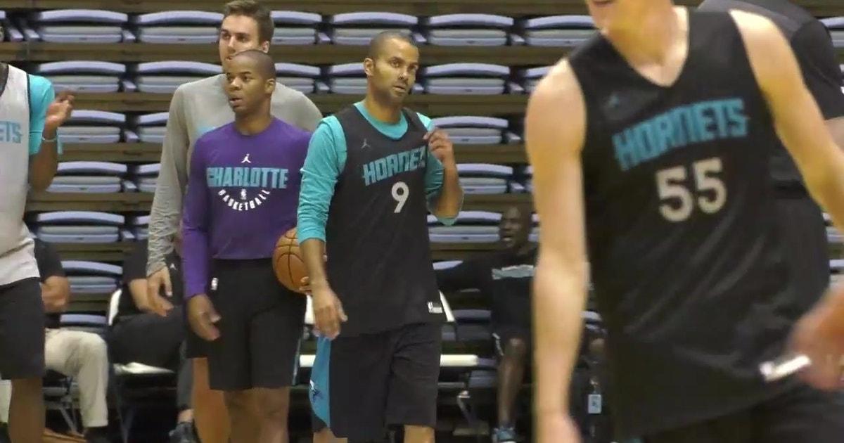 7af54653a NBA legend Tony Parker still adjusting to life in Hornets uniform ...