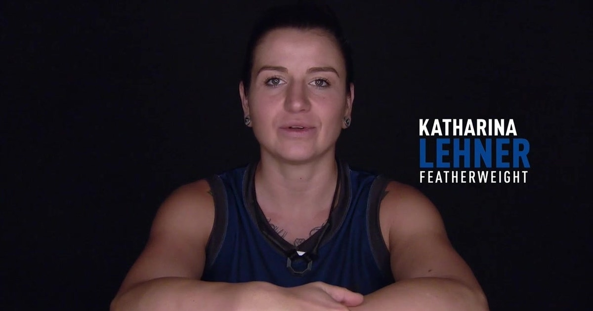 Get to know Katharina Lehner | THE ULTIMATE FIGHTER
