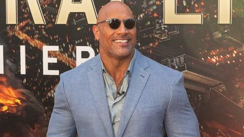 AMC LOEWS LINCOLN CENTER, NEW YORK, UNITED STATES - 2018/07/10: Dwayne Johnson attends the premiere of Skyscraper at AMC Loews Lincoln Center. (Photo by Lev Radin/Pacific Press/LightRocket via Getty Images)