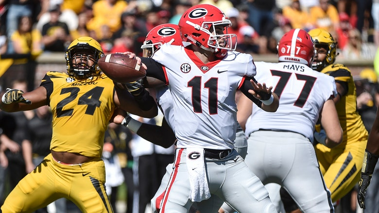 No. 2 Georgia tops Missouri 43-29