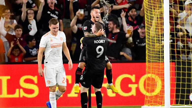 Luciano Acosta scores with a fantastic assist from Wayne Rooney vs. Atlanta United | 2018 MLS Highlights