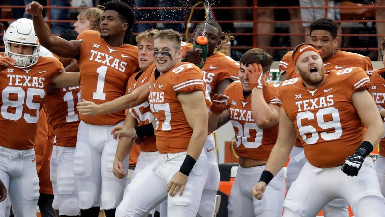 Time for No. 18 Texas to try to win on the road vs K-State