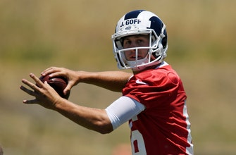 After no preseason, Jared Goff eager to unveil Rams' offense
