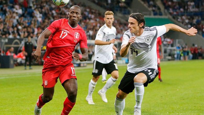Nico Schulz enjoys dream debut to help Germany beat Peru 2-1