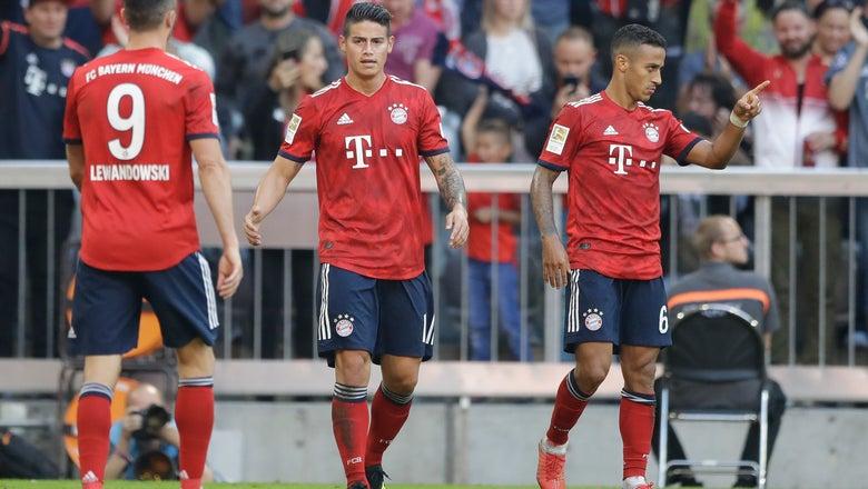 Tolisso injury overshadows Bayern's 3-1 win vs Leverkusen