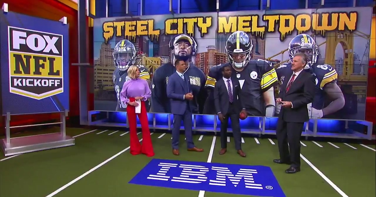 The NFL on FOX Kickoff crew debates whether the Steelers  may be one loss  away from imploding   bfc44f155