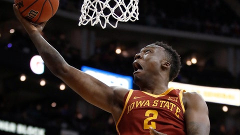<p>               FILE - In this Wednesday, March 7, 2018 file photo, Iowa State's Cameron Lard shoots during the first half of the team's NCAA college basketball game against Texas in the Big 12 men's tournament in Kansas City, Mo.   Lard spoke with reporters Thursday, Sept. 6, 2018 for the first time since rejoining the Cyclones after a stint over the summer at a wellness center. The move followed a series of legal incidents that put Lard's career in jeopardy, and the sophomore forward was remarkably candid in describing the impact that his time away from the program. (AP Photo/Charlie Riede, Filel)             </p>