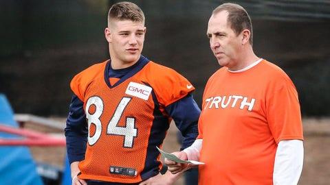 Troy Fumagalli, TE, Denver Broncos