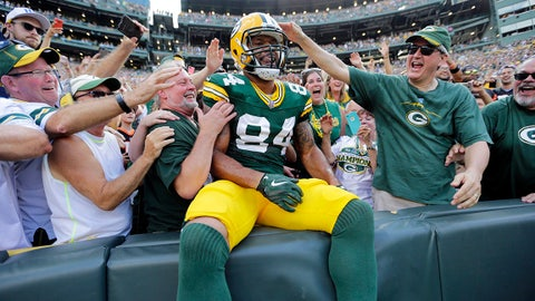 Lance Kendricks, TE, Green Bay Packers