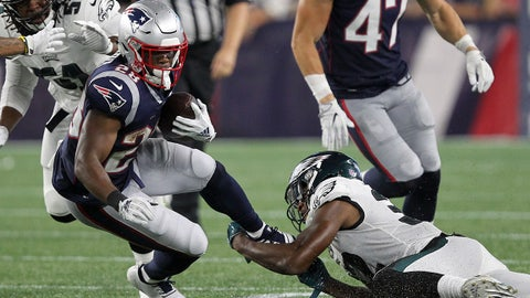 James White, RB, New England Patriots