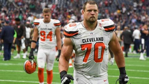 Kevin Zeitler, OG, Cleveland Browns