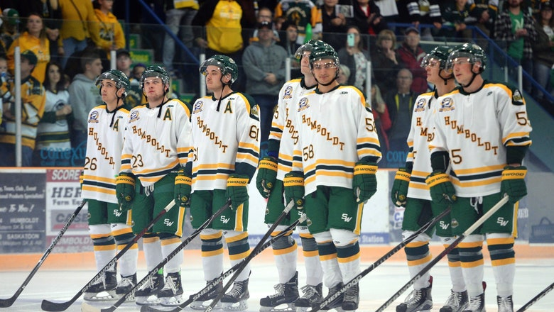 Humboldt Broncos return to ice 5 months after bus crash