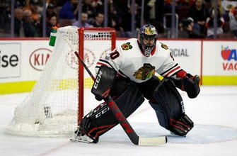 All eyes on goal for the Chicago Blackhawks