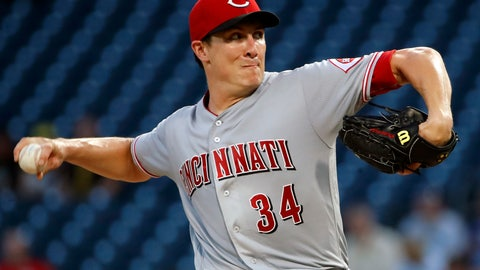 <p>               Cincinnati Reds starting pitcher Homer Bailey delivers in the first inning of the team's baseball game against the Pittsburgh Pirates in Pittsburgh, Wednesday, Sept. 5, 2018. (AP Photo/Gene J. Puskar)             </p>