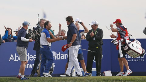Europe wins back Ryder Cup, beating U.S. 17 1/2