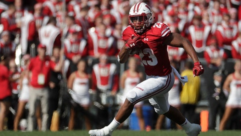 <p>               FILE - In this Sept. 15, 2018, file photo, Wisconsin's Jonathan Taylor runs during the first half of an NCAA college football game against BYU, in Madison, Wis. The 18th-ranked Badgers (2-1) haven't been the dominant team everyone expected them to be and, following their home loss to BYU, are looking to reset the season in their Big Ten opener against Iowa. The key will be how Wisconsin RB Jonathan Taylor fares. (AP Photo/Morry Gash, File)             </p>