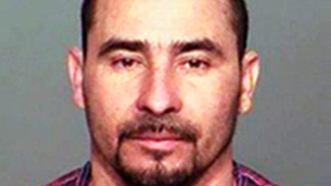 <p>               FILE - This file photo provided by the Indiana State Police shows Manuel Orrego-Savala, of Guatemala. Orrego-Savala, living illegally in the U.S., pleaded guilty Friday, July 20, 2018, to driving drunk when he killed Indianapolis Colts linebacker Edwin Jackson and his Uber driver on Feb. 4. 2018. Orrego-Savala is due to be sentenced Sept. 21, 2018. (Indiana State Police via AP, File)             </p>