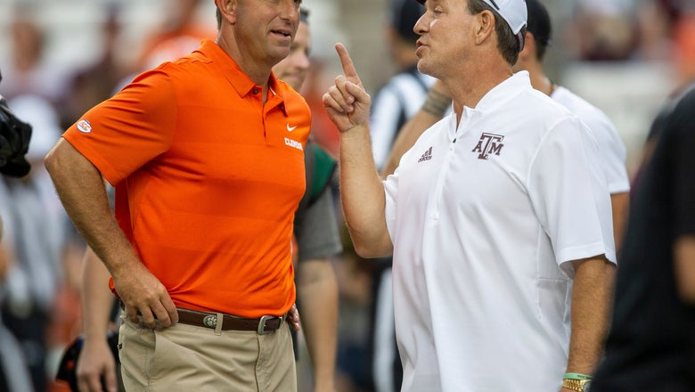 Fisher, No. 22 Texas A&M seeking upset of No. 1 Alabama
