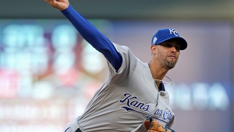 <p>               Kansas City Royals pitcher Jorge Lopez throws to a Minnesota Twins batter during the first inning of a baseball game Saturday, Sept. 8, 2018, in Minneapolis. (AP Photo/Jim Mone)             </p>