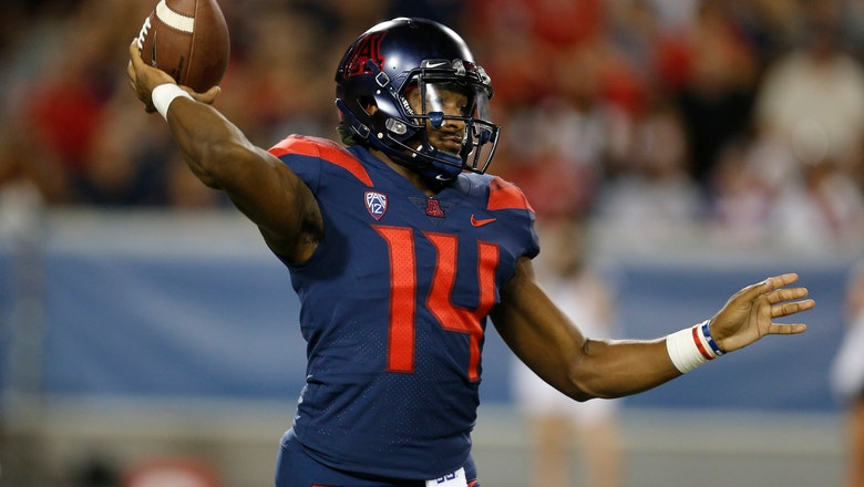 Arizona visits Oregon State with focus on Tate's ankle